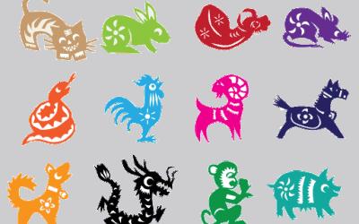 12 Zodiacs Crystals