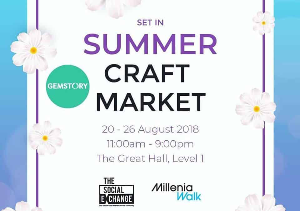 Millenia Walk Summer Craft Market