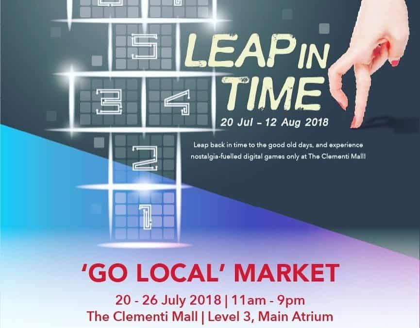 Leap In Time Go Local Market @ Clementi