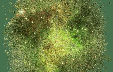 MERKABA STAR TETRAHEDRON SYMBOL – SACRED GEOMETRY