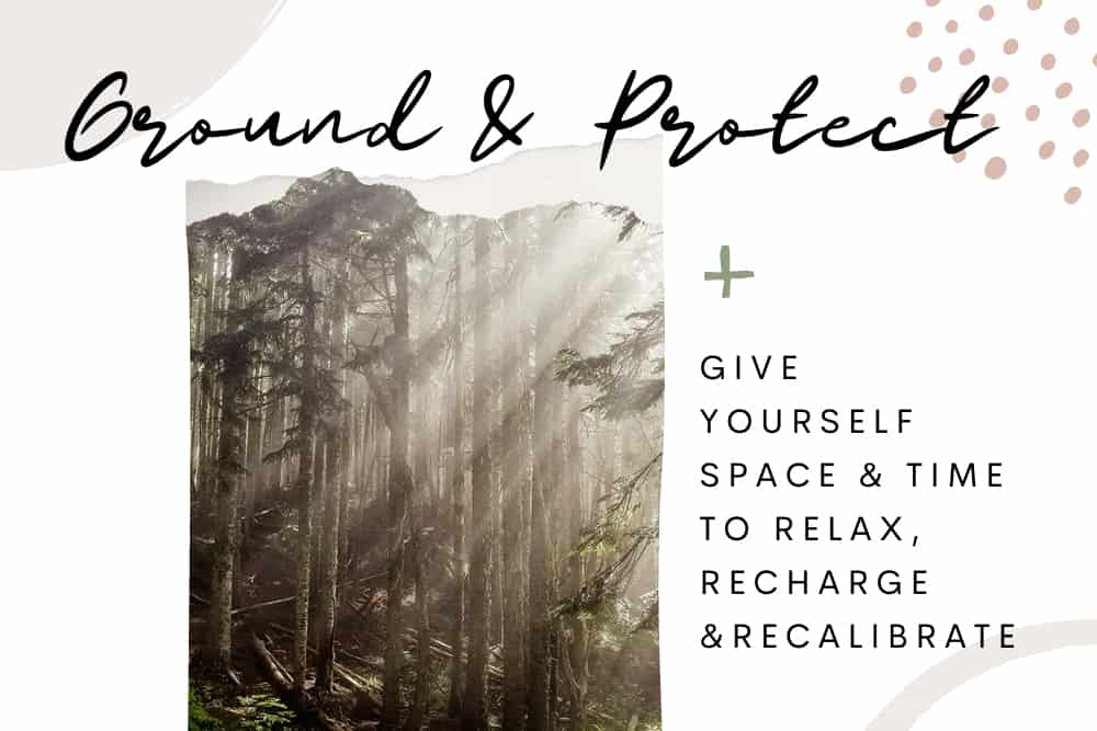 Ground & Protect Your Energy