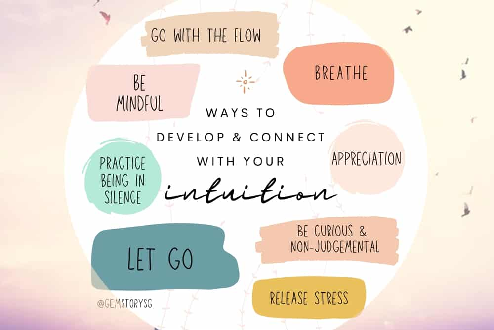 Ways to develop & connect with your 'INTUITION'